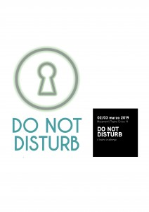 DO NOT DISTURB | il teatro in albergo